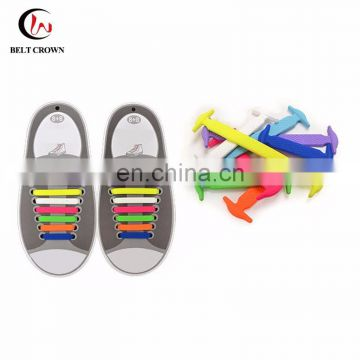 Shoelace Making Machine Made Elastic Silicone No Tie Shoelace