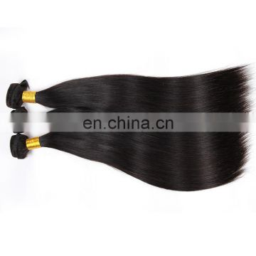 Malaysian straight human hair bundles ,100% unprocessed remy virgin human hair