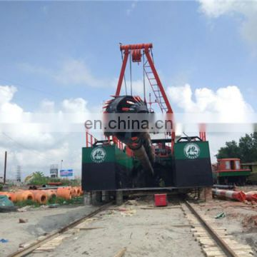 20inch cutter suction dredger new condition sand pump dredger ship for sale.