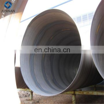China Q235 Q345 SS400 Structure spiral seam welded price of 48 inch steel  helix tube/pipe
