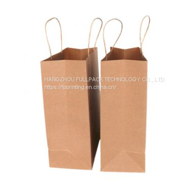 CMYK Logo printed craft paper bag