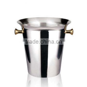 silver plated wine buckets for party supplies