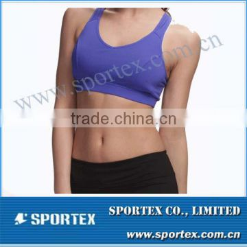 Functional Xiamen Sportex sports bra for lady, sport bra for lady, sports bra top for lady OEM#13133