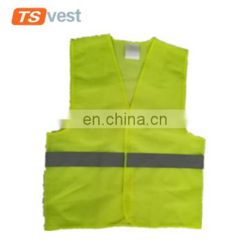 EN 20471 class 2 promotional high visibility safety vest for emergency
