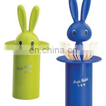 gift and novelty rabbit toothpick holder