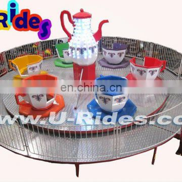 coffe cup amusement rides in Zhongshan China