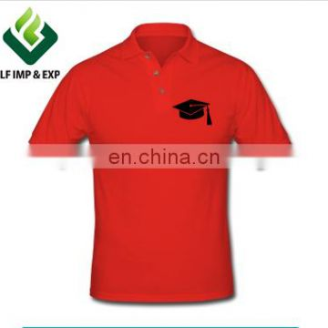 Polo Printed Men's Graduation T-shirt