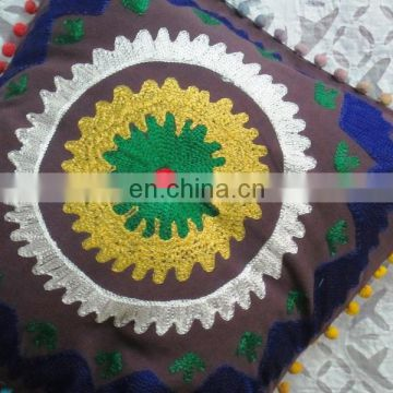Online wholesale Shop_Indian Suzani exclusive cushion cover_New designer Embroidery cushion cases_Online Wholesale Store