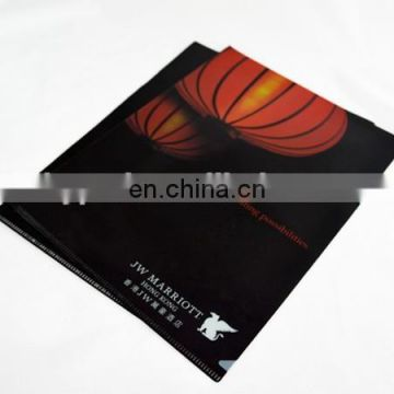 Fashional Factory Price Colored Plastic Folders for Document
