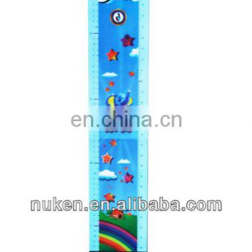 Custom water level 3d PET/PP material 30cm ruler actual size With Low Price