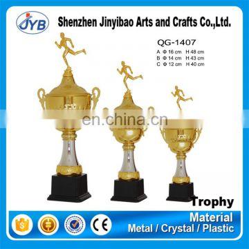 Creative Design Metal Running Top Sport Awards Trophy Cup