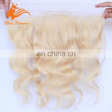Best Sale Pure Color Top Grade Quality Human Remy Hair Blonde Lace Frontal