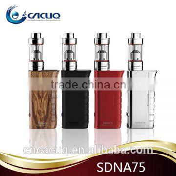 New Arrival SMY dna75 Evolv DNA75 chip dna 75w wholesale SDNA 75 MINI box mod