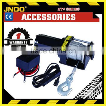 3000lbs 12V permanent magnet fast line speed electric winch for ATV