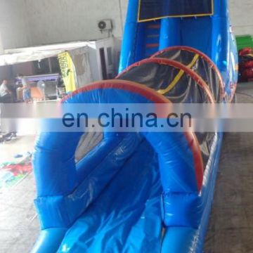New product ocean theme giant inflatable water slide with long slideway