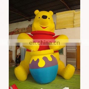 Inflatable bear cartoon bear character shape