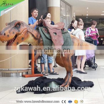 KAWAH Shopping Mall Rides Coin Operated Dinosaur Kiddie Rides for Sale