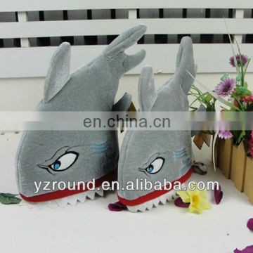 Valentine gift shark plush toy hat