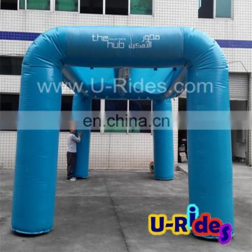 inflatable misting arch tent for stage