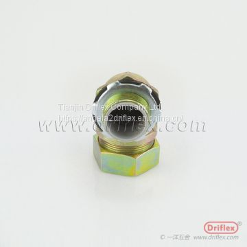 Colored Zinc plated Iron 90d Liquid-tight Conduit Fittings
