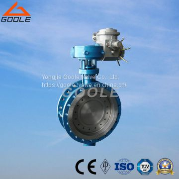 Triple Electric Flange Hard Sealing Butterfly Valve (GAD943H)