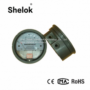 high accuracy Micro differential pressure gauge for air condition