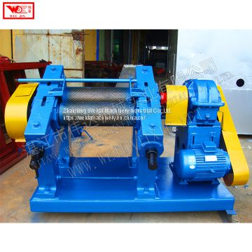 Natural rubber material cup rubber processing machine creper