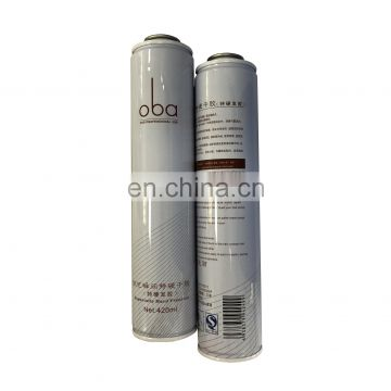 2019 hot sale diameter 52mm aerosol body spray can  aerosol tin cans