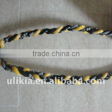2012 Hot selling rope knotted necklace jewelry