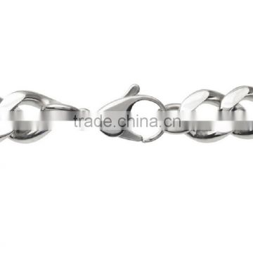 Wholesale curb chain Band curved Plaque stainless steel medical alert id bracelet                                                                         Quality Choice