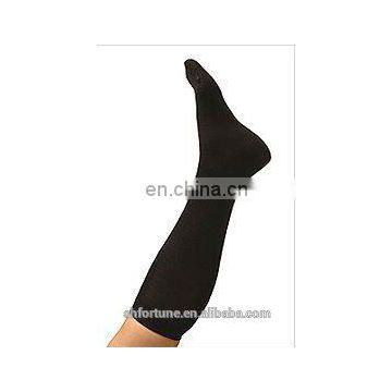 Casual ladies black silk stockings