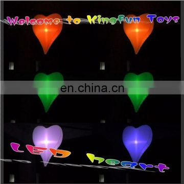 LED hanging inflatable wedding heart