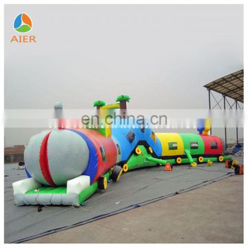 inflatable train tunnel,inflatable tunnel maze