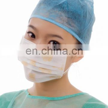 Non-woven Printed Medical Face Mask With Earloop