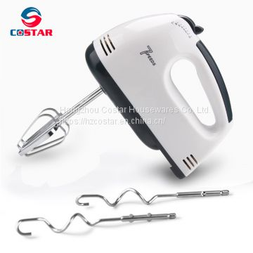 Electric Hand Mixer 7-Speed Stainless Steel Egg Beater Baking Tool, Electric Egg Beater,Hand Blender, Durable