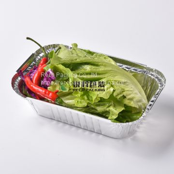 Disposable Takeaway Aluminum Foil Containers