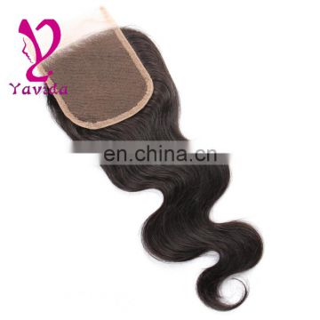 PayPal accepted Hot Sale fashion 100% virgin silk lace closures