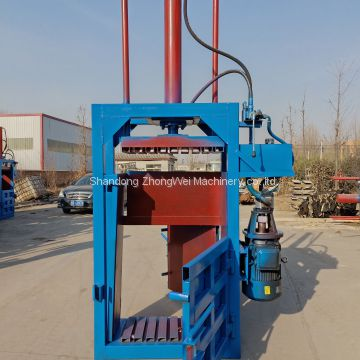 Vertical hydraulic cardboard baler for sale PLC control full automatic hydraulic waste paper carton baler