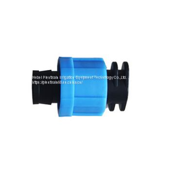 Drip tape connectors Lock ring connector supplier  Drip Irrigation Accessories supplier