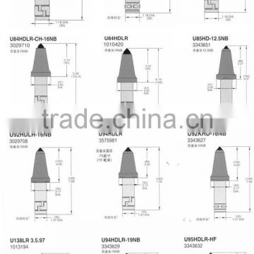 coal cutter picks/cutter teeth/cutting tools/coal picks/cutter picks