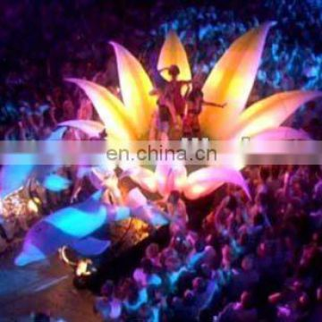 Stage inflatable flower