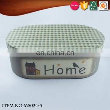 home furnishing sweet Packing Box with Lid