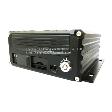 8ch 1080p HDD and SD Card Storage Vehicle MDVR for Fleet Management