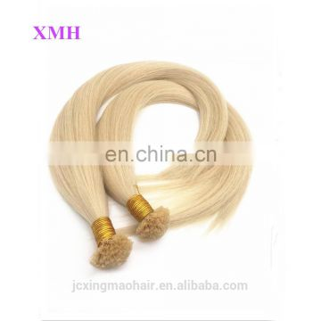 Wholesale V/U/I/Flat Tip Keratin Remy Human Hair 100% Extension From Factory
