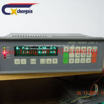 Weight Control System Indicator For Conveyor Belt Scale