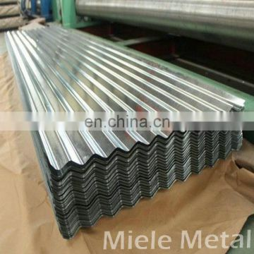 Customized shape and thick galvanized corrugated steel sheet