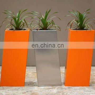 2mm Thickness Stainless Steel Outdoor Planter Box