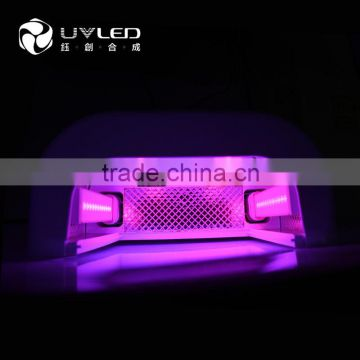 660nm(IR)+365nm(UV)+405nm(uv)Three types of leds light hand skin whitening uvled nail lamp