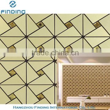 aluminum mosaic new design house decorative use mosaic tile for kitchen mosaic floor tile