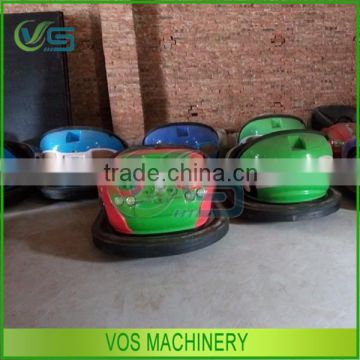 FRP&Steel materials amusement park electric car rides, electric bumper car for both kids adults for sale
